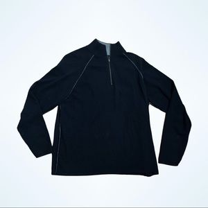 Brookmore Cashmere quarter zip sweater
